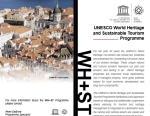 UNESCO World Heritage and Sustainable Tourism Programme